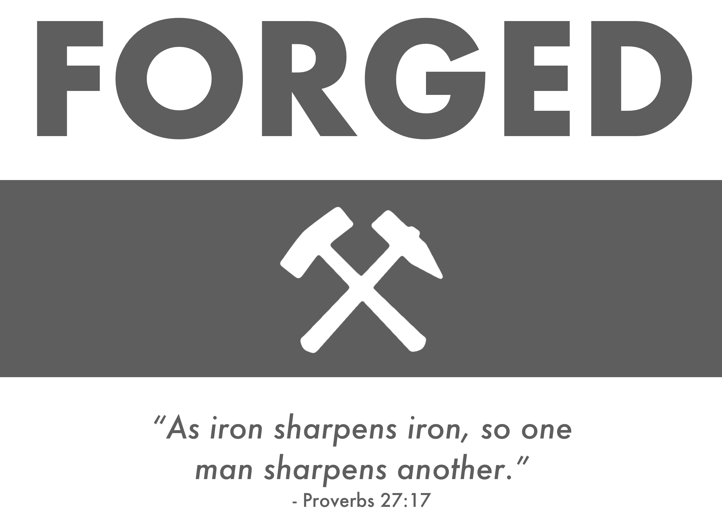 Forged banner