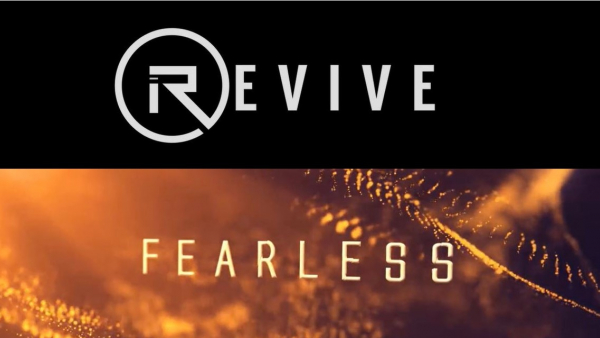 Logo text for Revive and Fearless